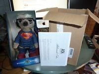 BNIB Limited Edition Superman Meerkat Meercat with certificate