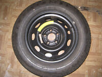 Dunlop SP Sport Tyre on Vauxhall Rim 205-65-15, may swap for corsa tyres