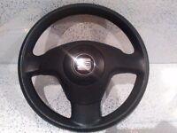 Steering Wheel & Airbag Seat Ibiza 2002/2006