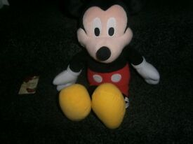 TALKING / SINGING MICKEY MOUSE TOY 18""