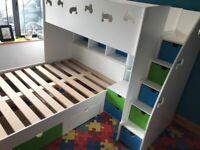 Kids Bunk with Storage Uk