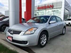 2009 Nissan Altima 2.5 S CONVENIENCE HEATED SEATS, ALLOYS