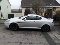 Hyundai Coupe SIII 2007 Silver Manual