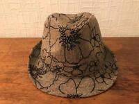Trilby style hat