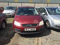 2004 Ford Focus C-Max, 1.8 Petrol, Breaking for parts only, All parts available