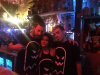 Bar staff for underground secret gig this weekend and future weekends