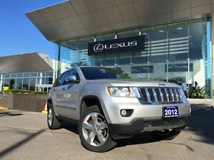 2012 Jeep Grand Cherokee 1 Owner Nav Lthr AWD Btooth Sroof BUcam