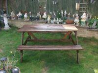 pub garden bench seat