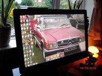27in Widescreen Iiyama PC Touchscreen Monitor