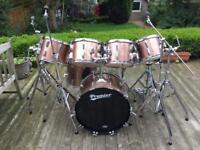 Vintage Premier Soundwave Drum kit