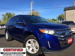 2013 Ford Edge SEL ** AWD, NAVI, HTD LEATH, PANO-ROOF **