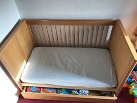 M&S Charlie Cotbed with storage drawer