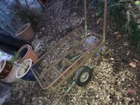 Perfect garden trolley for your transport.good condition