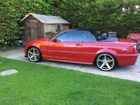 318Ci M-Sport Convertible 2005 (May SWAP for BMW X5 or Celica 190 GT )