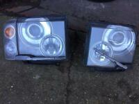Range Rover l322 headlights
