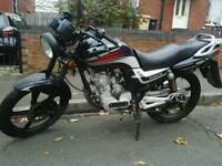 Lexmoto Arrow 125 MOT'd 125cc learner motorcycle motorbike £480 suzuki yamaha honda ybr cbf yz gn dr