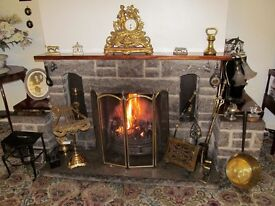 QUANTITY DRESSED MOELFRE (ANGLESEY) STONE, DISMANTLED FIREPLACE £35.00