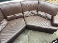 Curved /corner sofa , 4 seater. Delivered