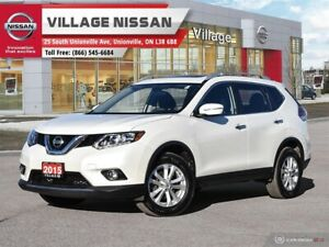 2015 Nissan Rogue SV ONE OWNER!