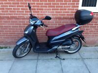Peugeot TWEET 125 cc low mileage motorcycle / moped / scooter serviced