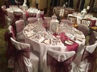 118 white chair covers