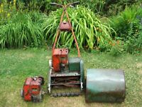 Lawn Mower Suffolk Super Colt 12in Cut No Spark Engine Good Project
