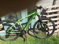 Cannon dale trail 4 29er mountain bike