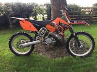 2003 Road registered ktm sx200 mot sx Mx bike crosser enduro px 125 road legal