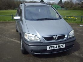 VAUXHALL ZAFIRA 2.0DTi 16v ENERGY 7 SEATER 5 DOOR