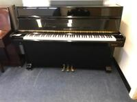 Sojin upright piano Black gloss 3 pedal modern compact piano