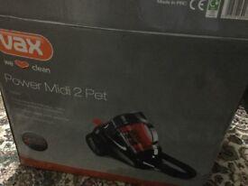 Brand new Vax hoover 2000 watt midi pet still in the box only £35