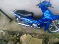 Loncin 110cc 10 mounths mot just had brand new tire and tube