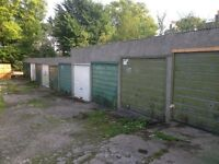 Single car lock up garage investment for sale or rent, Cornhill Road, Aberdeen