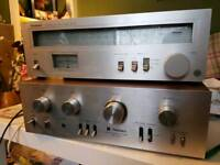 Technics amplifier & tuner *FOR PARTS & SPARES*
