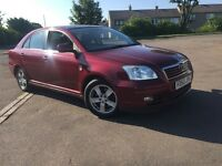 BARGAIN 53 PLATE TOYOTA AVENSIS 2.0 DIESEL-- FULL SERVICE HISTORY (16 stamps) / ONE LADY OWNER
