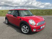 2010 MINI ONE WITH FULL MINI MAIN DEALER SERVICE HISTORY AND ONLY 1 OWNER FROM NEW! LOW MILEAGE!