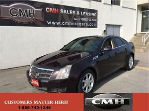 2009 Cadillac CTS 3.6L BOSE LEATH *CERTIFIED*