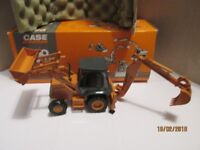 New UH 1/50 Scale 8079 Case 580 ST Excavator Diecast model Construction Tractor