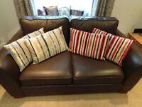 Velvet Stripe Cushions X4