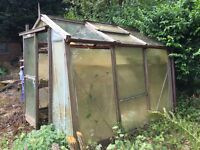 Wooden Cedar Greenhouse - free to a good home!