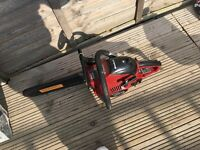 einhell chainsaw like new