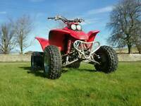 Honda trx 400 race quad