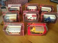 8 Matchbox models of yesteryear toy vehicles