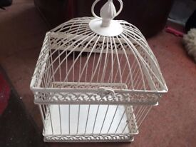 Vintage style cage
