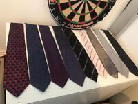 Mens ties work tie job lot bundle