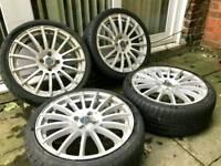 17 alloy wheels with tyres corsa astra nova vw Toyota arosa caddy civic MX5