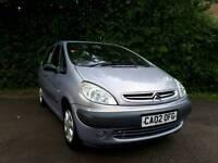 Citroën xsara Picasso 1.6 sx. *NEW MOT UPON SALE* *EXCELLENT CONDITION *