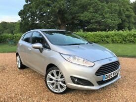 2015-65 Ford Fiesta 1.0 EcoBoost Titanium *Watch Video* FFSH 1 Owner Parking Sensors Cruise Climate