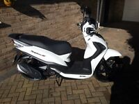 Sym Symphony ST125 Scooter 5 year warranty genuine 232 miles.