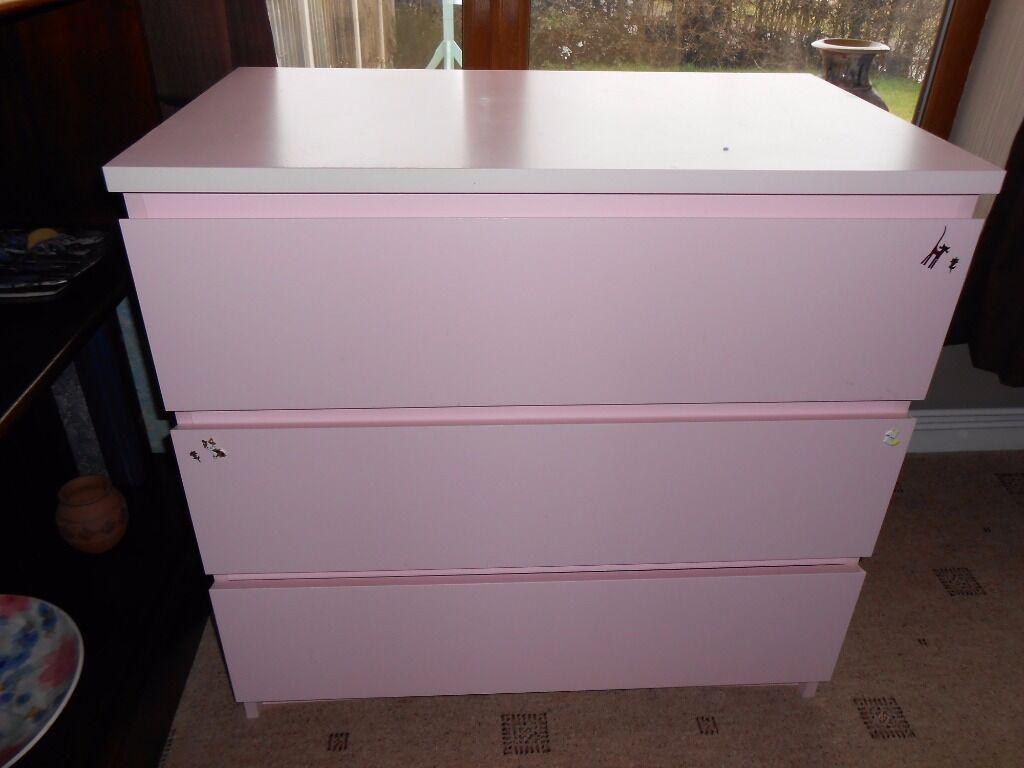 ikea pink malm dresser bestdressers 2019. Black Bedroom Furniture Sets. Home Design Ideas